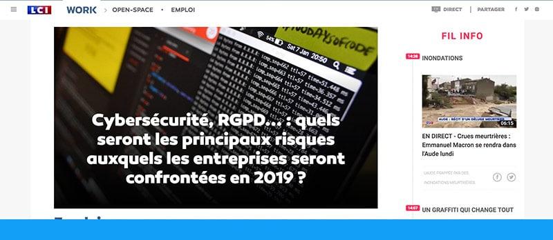 Sécurité informatique : principale préoccupation des entreprises