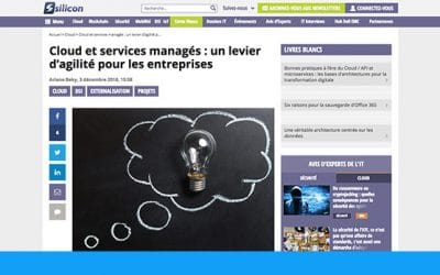 Services Cloud : levier d'agilité pour l'infogérance